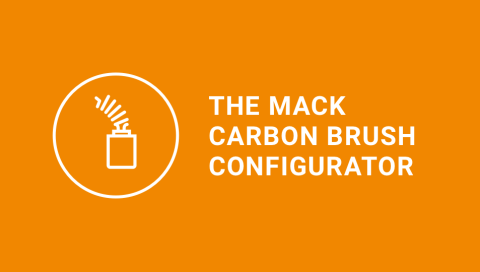 MACK carbon brush configurator